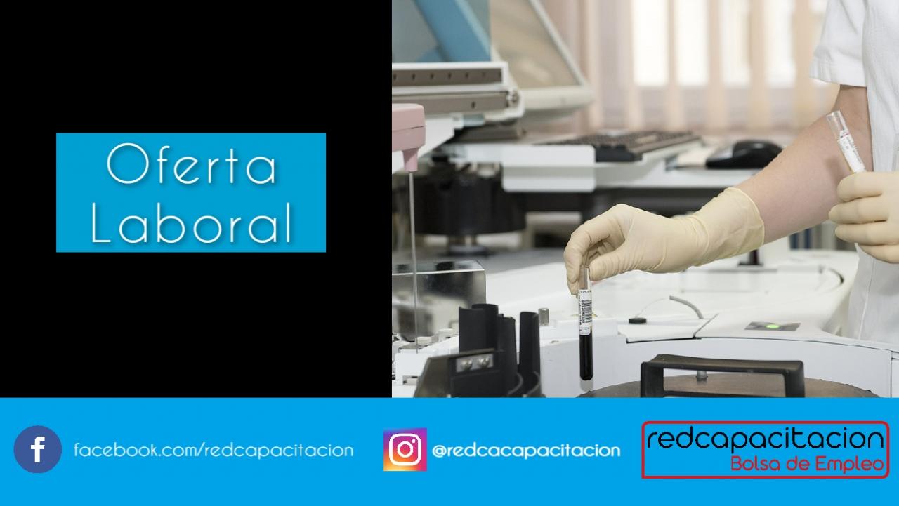 Noticia Oferta laboral - Analista de laboratorio Clínico || Vitacura