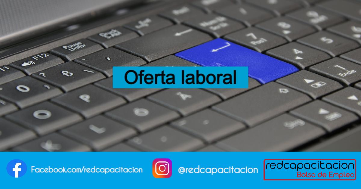 Noticia Oferta Laboral: Ejecutivo Comercial (modalidad online)