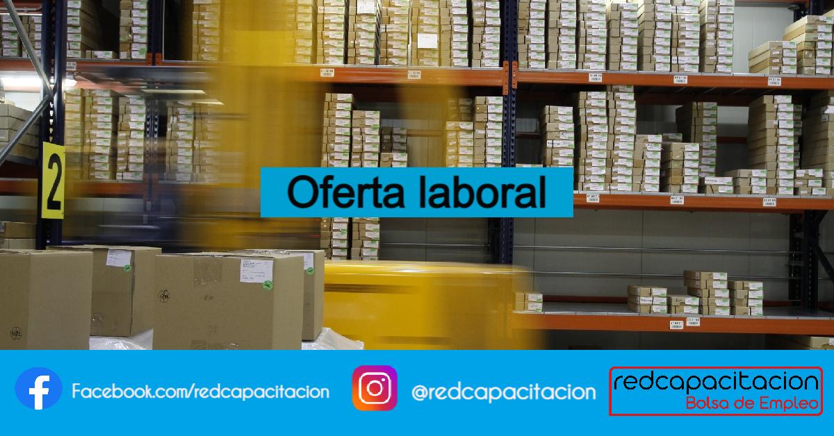 Noticia Oferta Laboral Coordinador de Bodega - Santiago