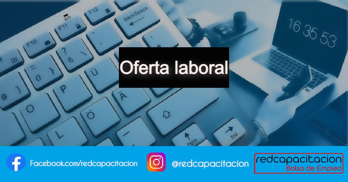Noticia Oferta Laboral - Agente Atención al Cliente || TeleTrabajo
