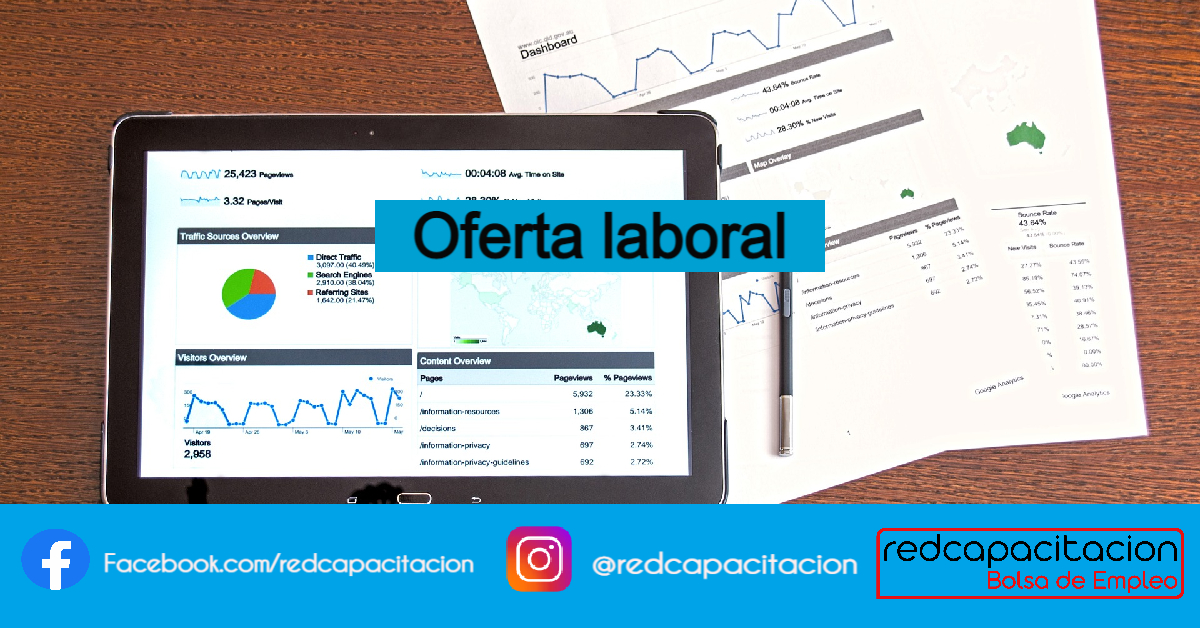 Oferta Laboral - SEO Manager    Home Office
