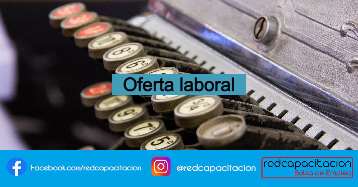 Noticia Oferta Laboral; SUPERVISOR TESORERÍA (SEMI SENIOR)