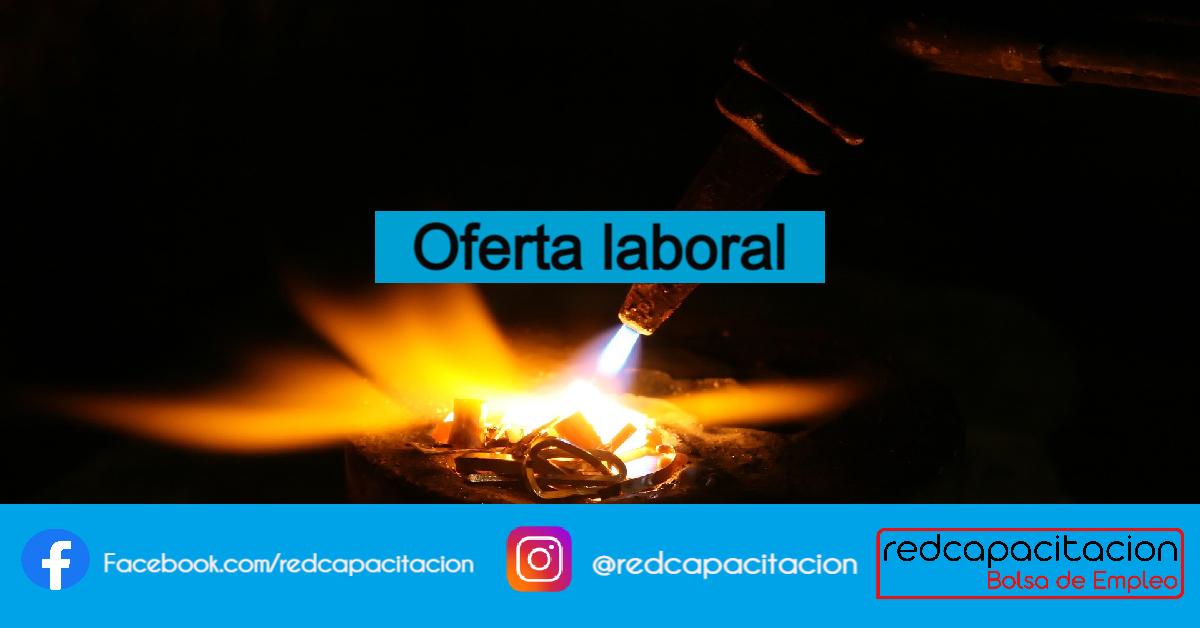 Noticia Oferta Laboral: SOLDADOR CERTIFICADO - QUILICURA