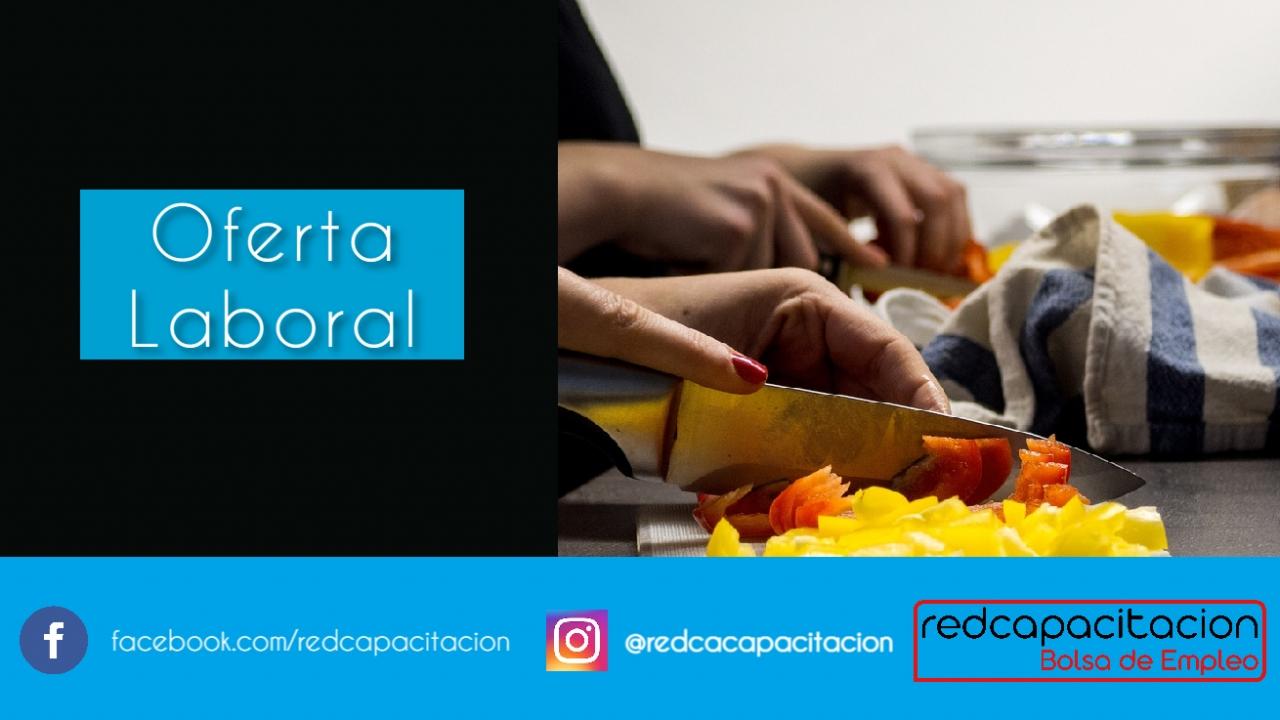 Noticia  Oferta de Trabajo Técnico en Gastronomía    Ñuñoa