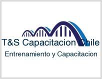 Logo T&S Capacitacion Chile Ltda.-