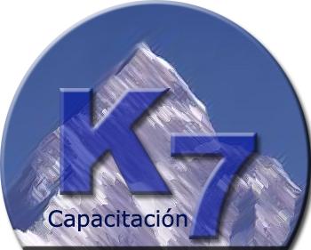 Logo Capacitación K 7
