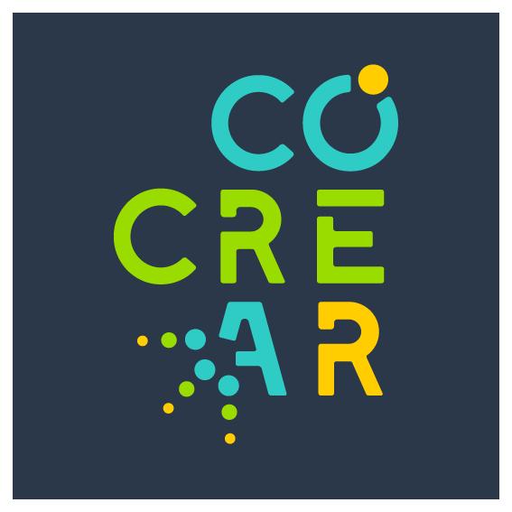 Logo COCREAR Colectivo de Creadores Artísticos ltda.