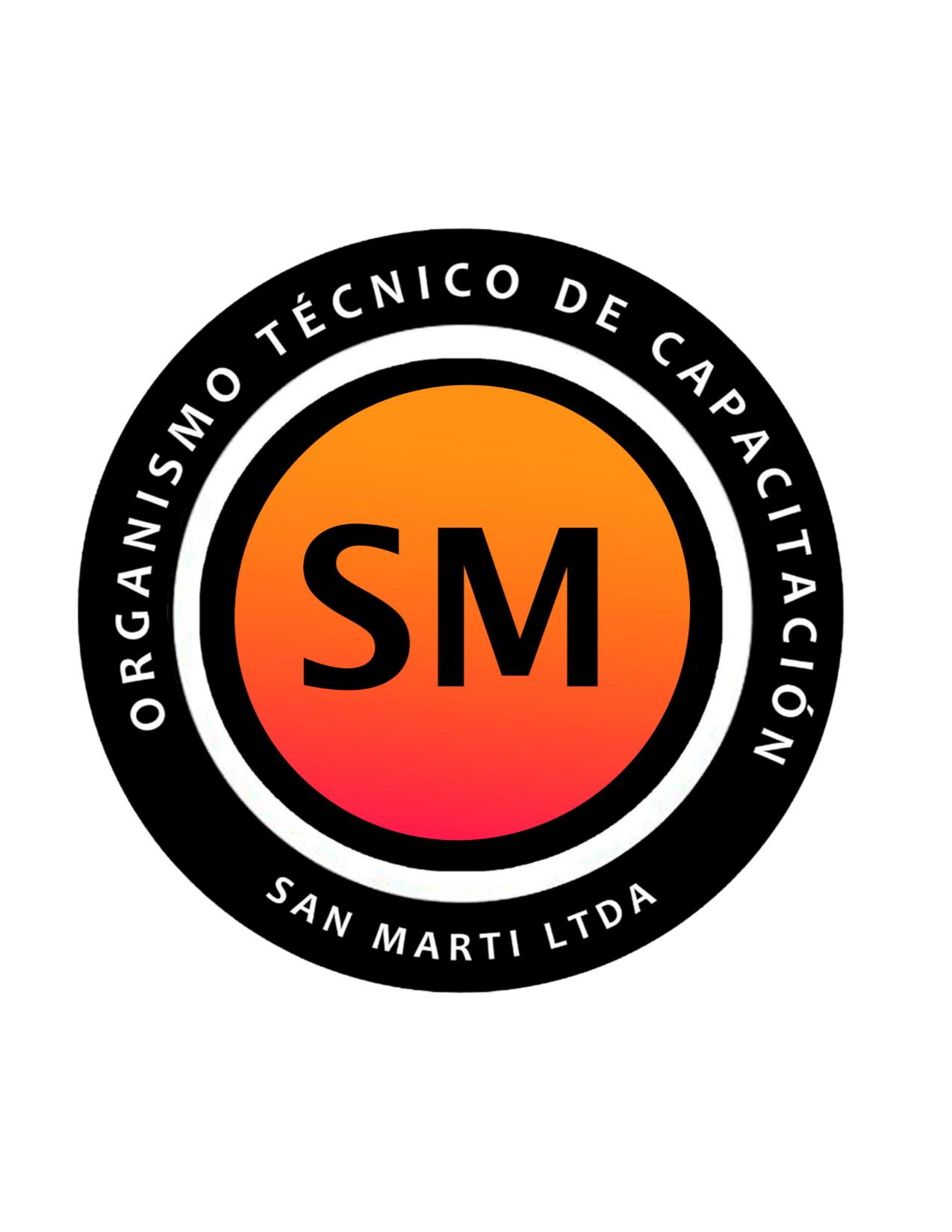 Logo Organismo Técnico de Capacitación San Marti Limitada