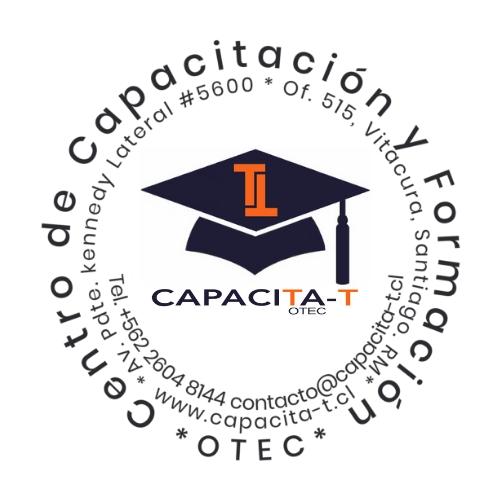 Logo CENTRO DE CAPACITACIÓN Y FORMACIÓN CAPACITA-T LIMITADA