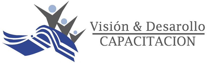 Logo Visión y Desarrollo Capacitación