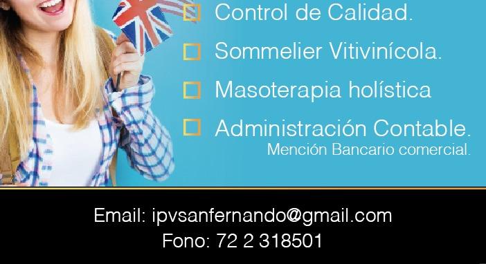 Logo Instituto de capacitacion Ipv San Fernando