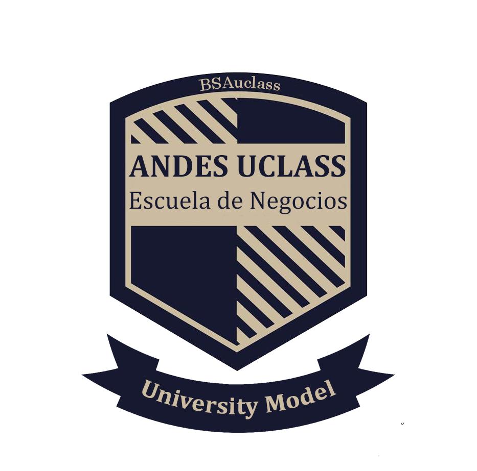 Logo Escuela de Negocios Andes Uclass / Prime Patagonia