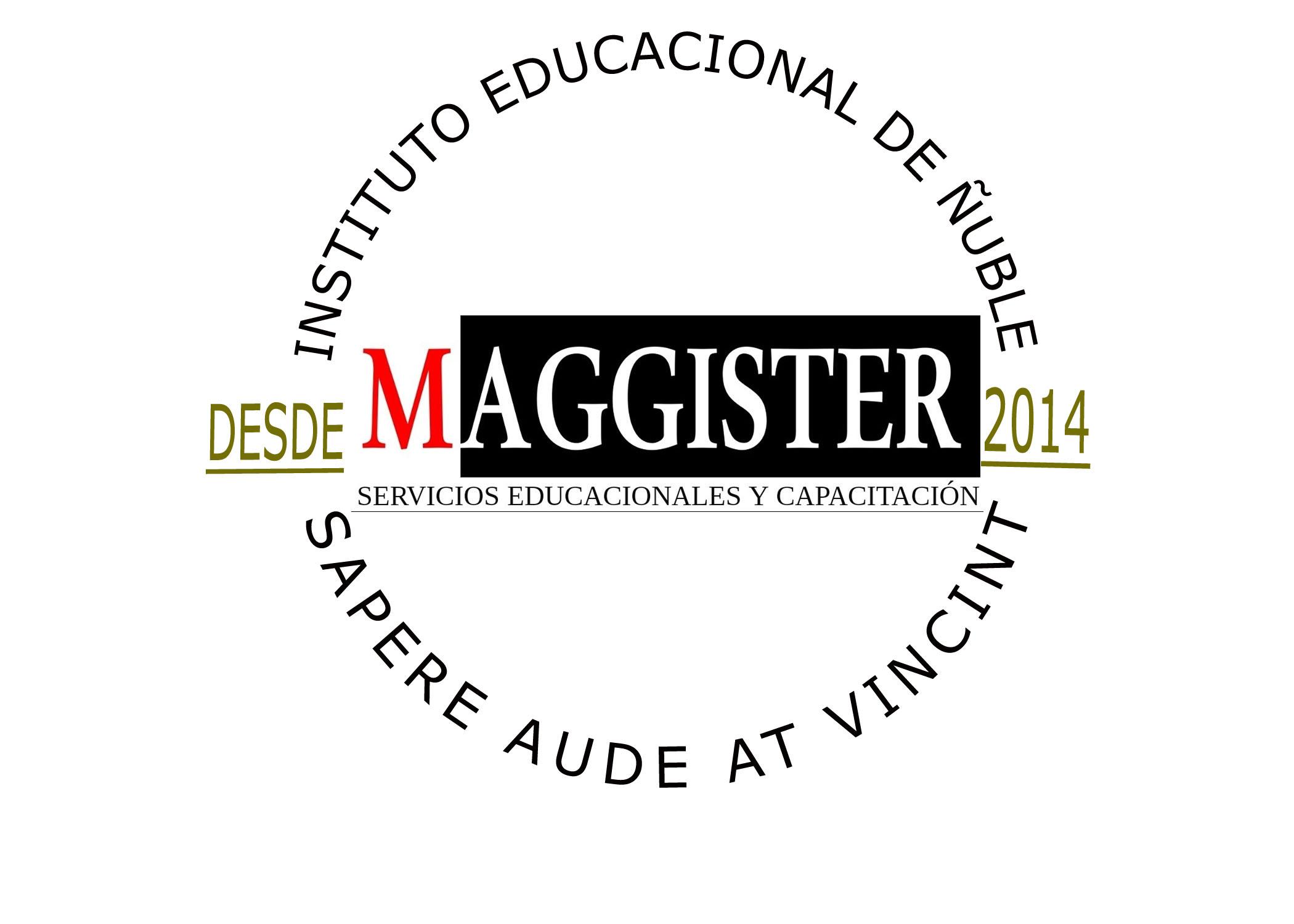 Logo Maggister Instituto Educacional de Ñuble SpA