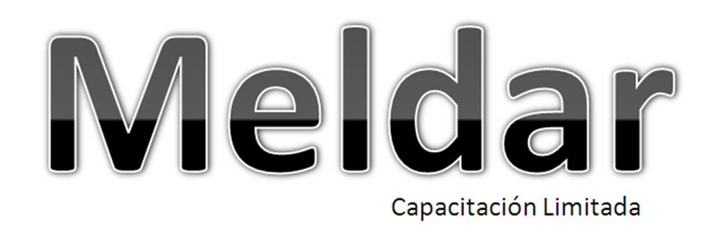 Logo Meldar Capacitacion Limitada