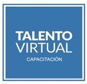 Logo TALENTO VIRTUAL CAPACITACIÓN Spa
