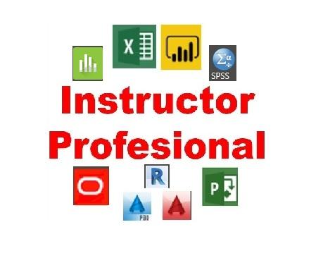 Logo Instructor Profesional - Operación de Software de Aplicaciones
