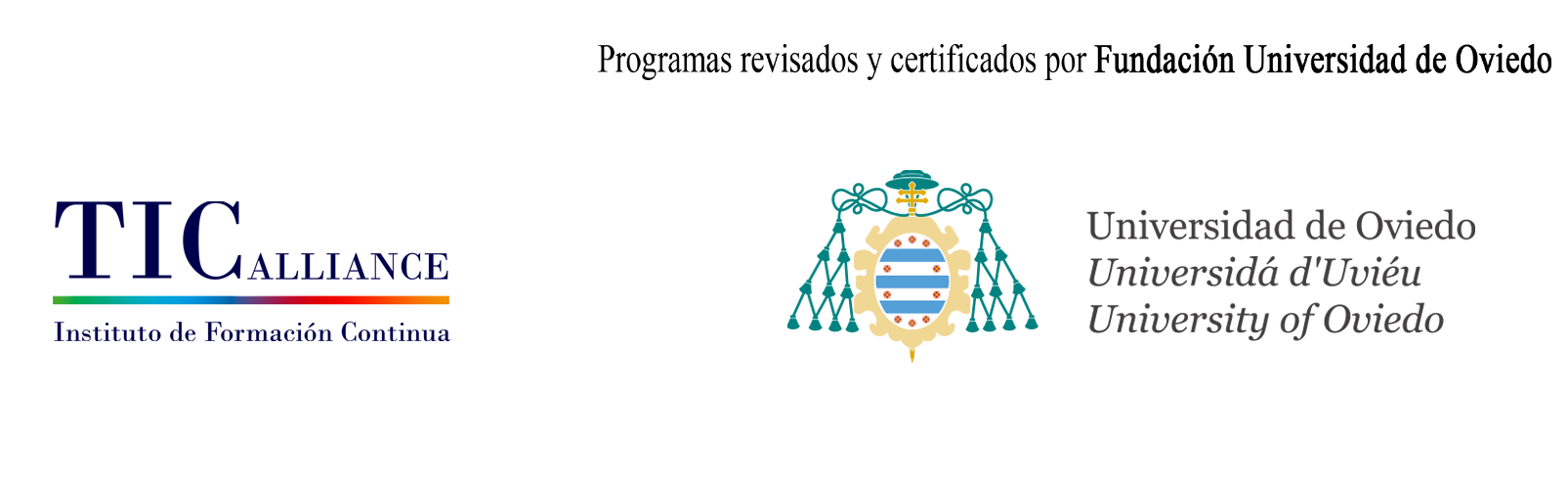 Logo Instituto de Formación Continua TIC Alliance - Fund. Universidad de Oviedo