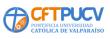 Logo Corporaci�n Centro De Formaci�n T�cnico De La Pontificia Universidad Cat�lica De Valpara�so. Cft Pucv