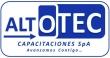 Logo Altotec Capacitaciones Spa