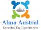 Logo Alma Austral  Capacitaciones E. I. R. L