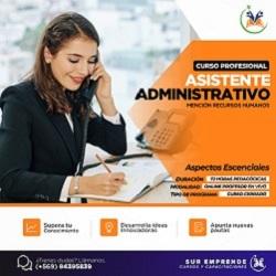 publicidad Asistente Administrativo