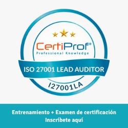 publicidad ISO 27001 Lead Auditor