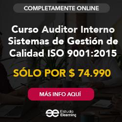 publicidad Curso Auditor Interno en Sistemas de Gestión de Calidad ISO 9001:2015