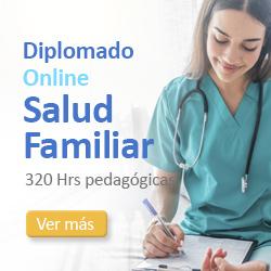 publicidad Diplomado Online de Salud Familiar