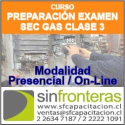 publicidad Curso Instalador Gas SEC Clase 3