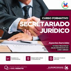 publicidad Secretariado Jurídico
