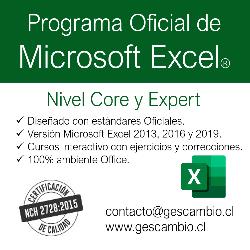publicidad Curso Microsoft Excel