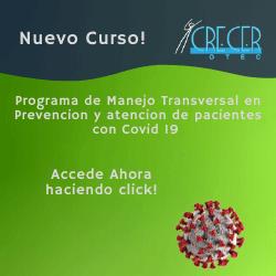 publicidad CURSO PREVENCION MANEJO PACIENTES COVID19