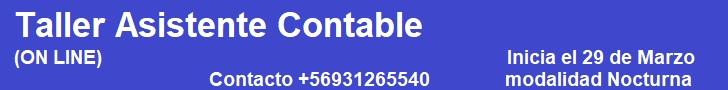 publicidad TALLER DE  ASISTENTE CONTABLE Y ADMINISTRATIVO (50 Hrs)  MODALIDAD E-LEARNIG