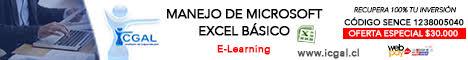 publicidad Curso Excel básico