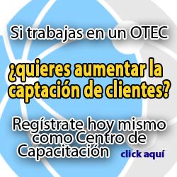 publicidad Regístrate como OTEC