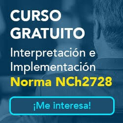 publicidad Curso norma Nch2728